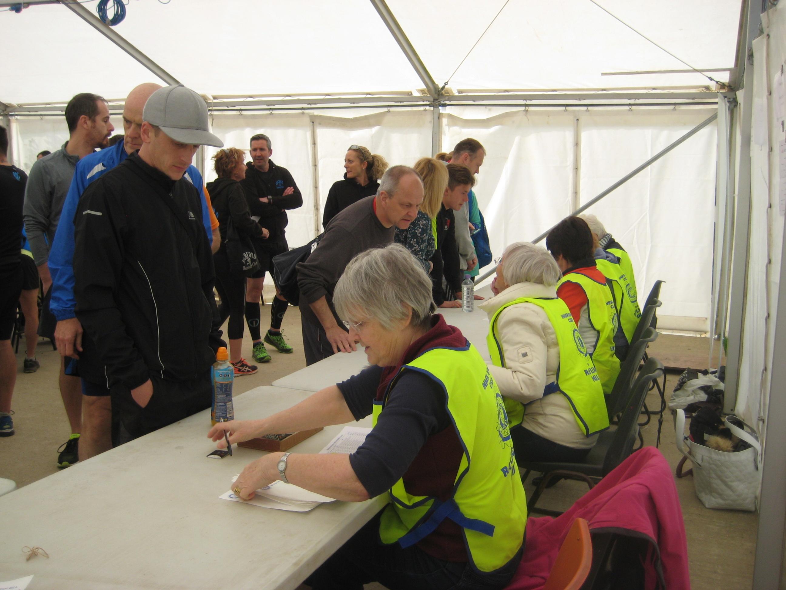 registering the runners